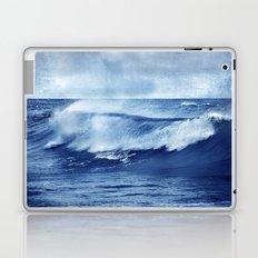 Blue wave Laptop & iPad Skin