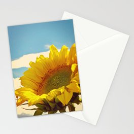 Lucy in the Sky with Sunflower Stationery Cards