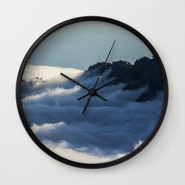 Cloud sea Wall Clock