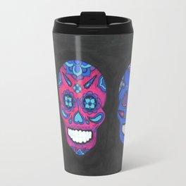 Three Amigos sugar skull Travel Mug