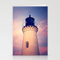 lighthouse Stationery Cards featuring Lighthouse by JMcCool