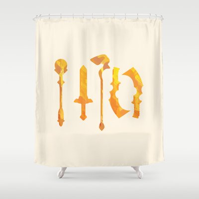 Final Fantasy IX GIOdesign 6999 Ragnarok Shower Curtain