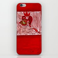 om iPhone & iPod Skins featuring om by Loosso