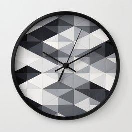 Geo Gradation Wall Clock