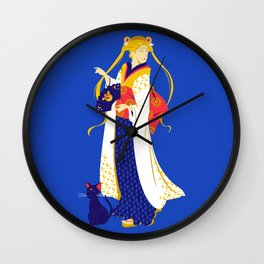 Geisha Moon Wall Clock