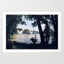 Wilson Bridge Art Print