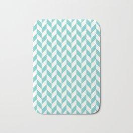 Tiffany Herringbone Pattern Bath Mat