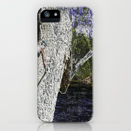 Climbing to Nirvana iPhone Case