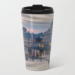 Saint Peter's Basilica at Sunset Travel Mug