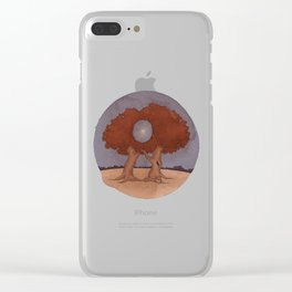 A Moon with a View Clear iPhone Case