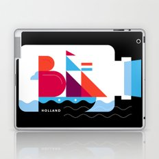 Postcards from Amsterdam / Bottle Ship Laptop & iPad Skin