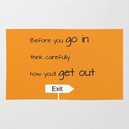 Exit Rug