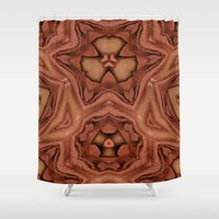 abyss Shower Curtains featuring Abyss by RingWaveArt