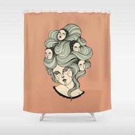 Sleepers Shower Curtain