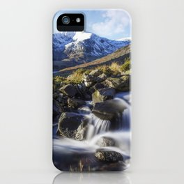 Glyder Fawr Range iPhone Case