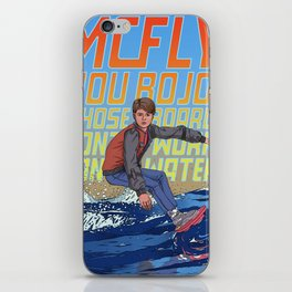 McFly, you bojo! iPhone Skin