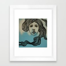 #42 Spiral Framed Art Print