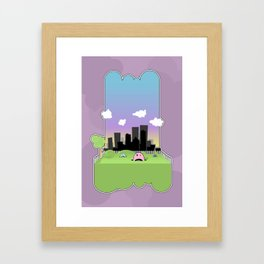 We May Have Taken a Wrong Turn... Framed Art Print