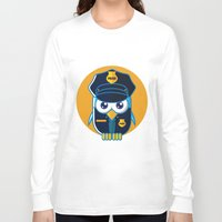 police Long Sleeve T-shirts featuring Police Bird by ArievSoeharto
