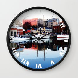 Serenity Floats Wall Clock