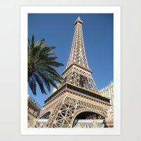 Eiffel Tower, LV Art Print