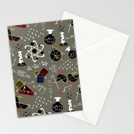 Science Fair Stationery Cards