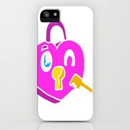 Love you pictures as a gift for Valentine's Day iPhone Case