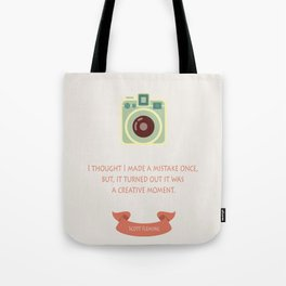 Creative moment Tote Bag