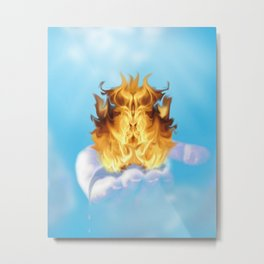 The Offering Metal Print