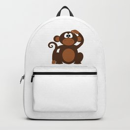 Silly Monkey Backpack