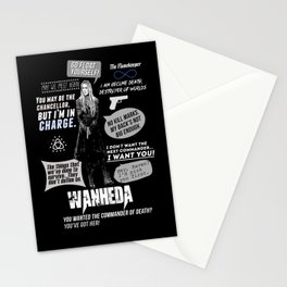 Clarke Griffin - Quotes The 100 Stationery Cards