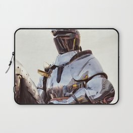 Knight In Shining Armour Laptop Sleeve