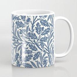 William Morris Navy Blue Botanical Pattern 2 Coffee Mug
