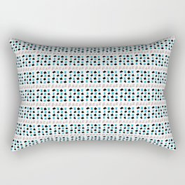 Rectangle and abstraction 3-abstraction,abstract,rectangled,geomtry,geometric Rectangular Pillow