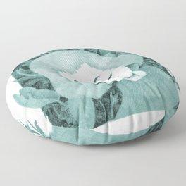 Portrait of Nature Floor Pillow