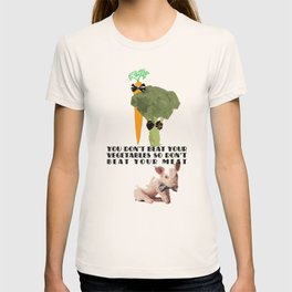 don't beat your meat. T-shirt