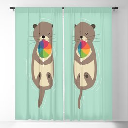 Sweet Otter Blackout Curtain