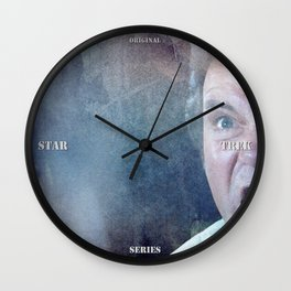 Star Trek Kirk Khaaaaan! Wall Clock