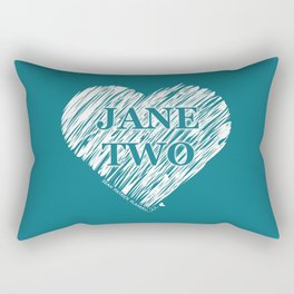 Heart Jane Two Rectangular Pillow