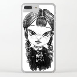 Little Girl Clear iPhone Case