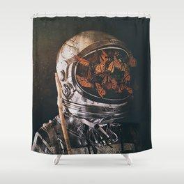 Inward Shower Curtain