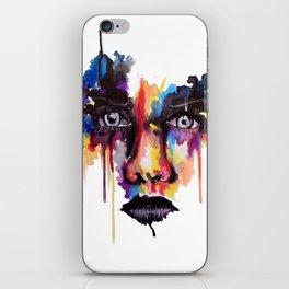 Splash of emotion iPhone Skin