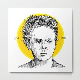 St. Marie Curie Metal Print