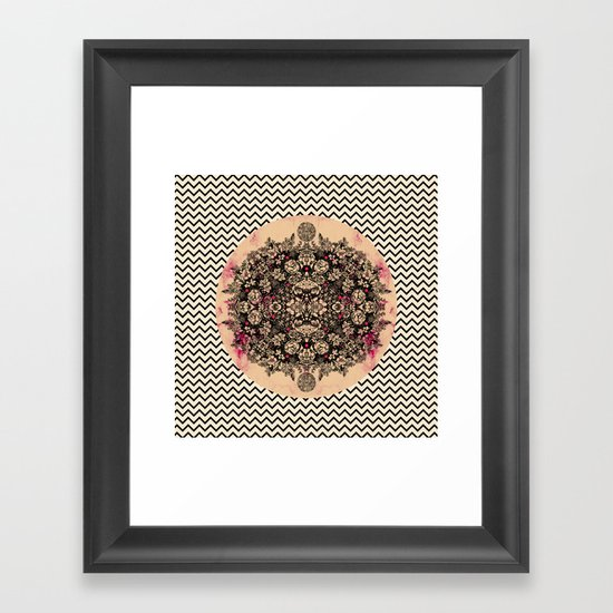 C.W. xxi Framed Art Print