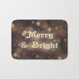 Merry & Bright Bath Mat