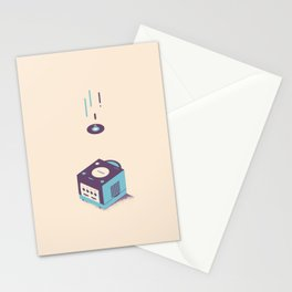 ElectroVideo GameCube (blue) Stationery Cards