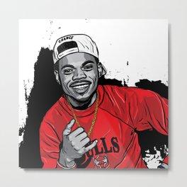 Chance/Bulls Metal Print