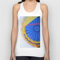 hot air balloon Tank Tops featuring Hot Air Balloon by Brian Raggatt