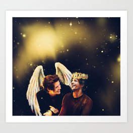 The Angel and The Prince Art Print