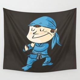 Kamae de ninjutsu  la postura del ninja Wall Tapestry